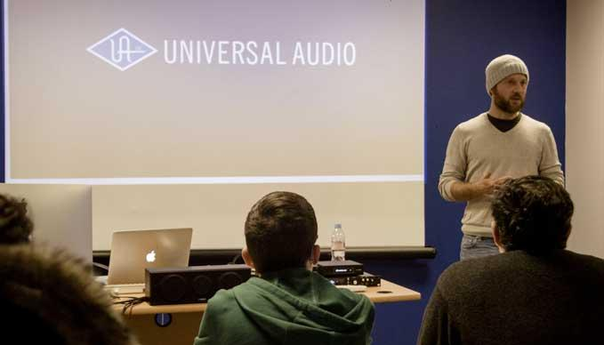 Universal Audio à la SAE Paris