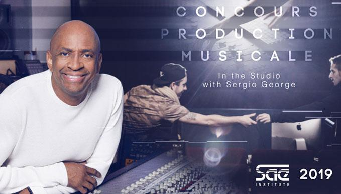 Finale Concours Production Musicale SAE 2019 : In the Studio with Sergio George