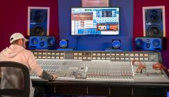 Studio SSL 4000G+ SAE Paris